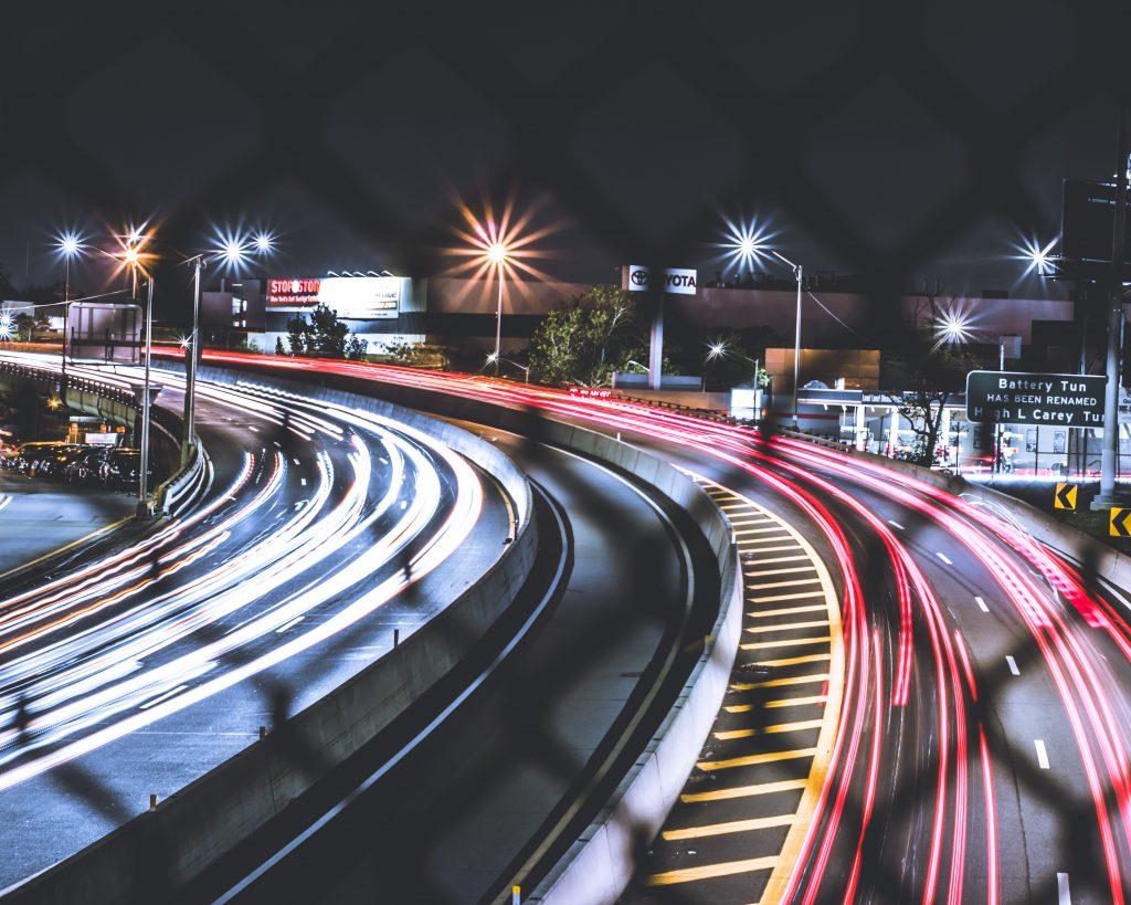 Nighttime Roadway Ling Exposure